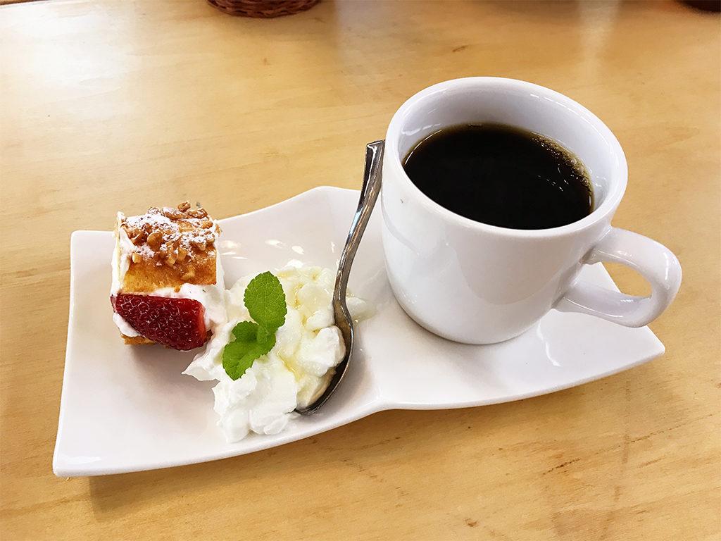 食後のデザート・コーヒー