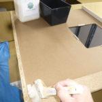 家具・キッチンの裏面の処理と床養生について